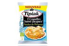 4 Coquilles Saint-Jacques Fondue de Poireaux Tipiak