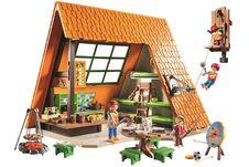 Ma cabane de Playmobil