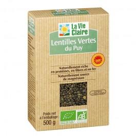 Lentilles vertes du puy bio la vie claire de la vie claire for Mauve la vie claire