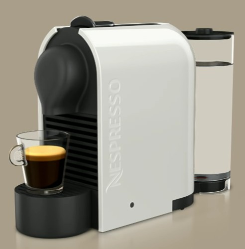 machine caf nespresso u milk de nespresso. Black Bedroom Furniture Sets. Home Design Ideas