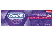 Le dentifrice « 3D White Luxe – Eclat et Glamour » d'Oral-B