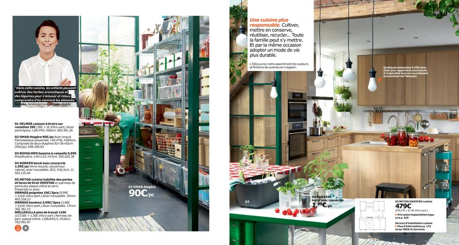 le nouveau catalogue ikea vise les citadins march maison. Black Bedroom Furniture Sets. Home Design Ideas