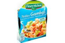 Petites gambas Concassée de tomates et tagliatelles basilic Fleury Michon