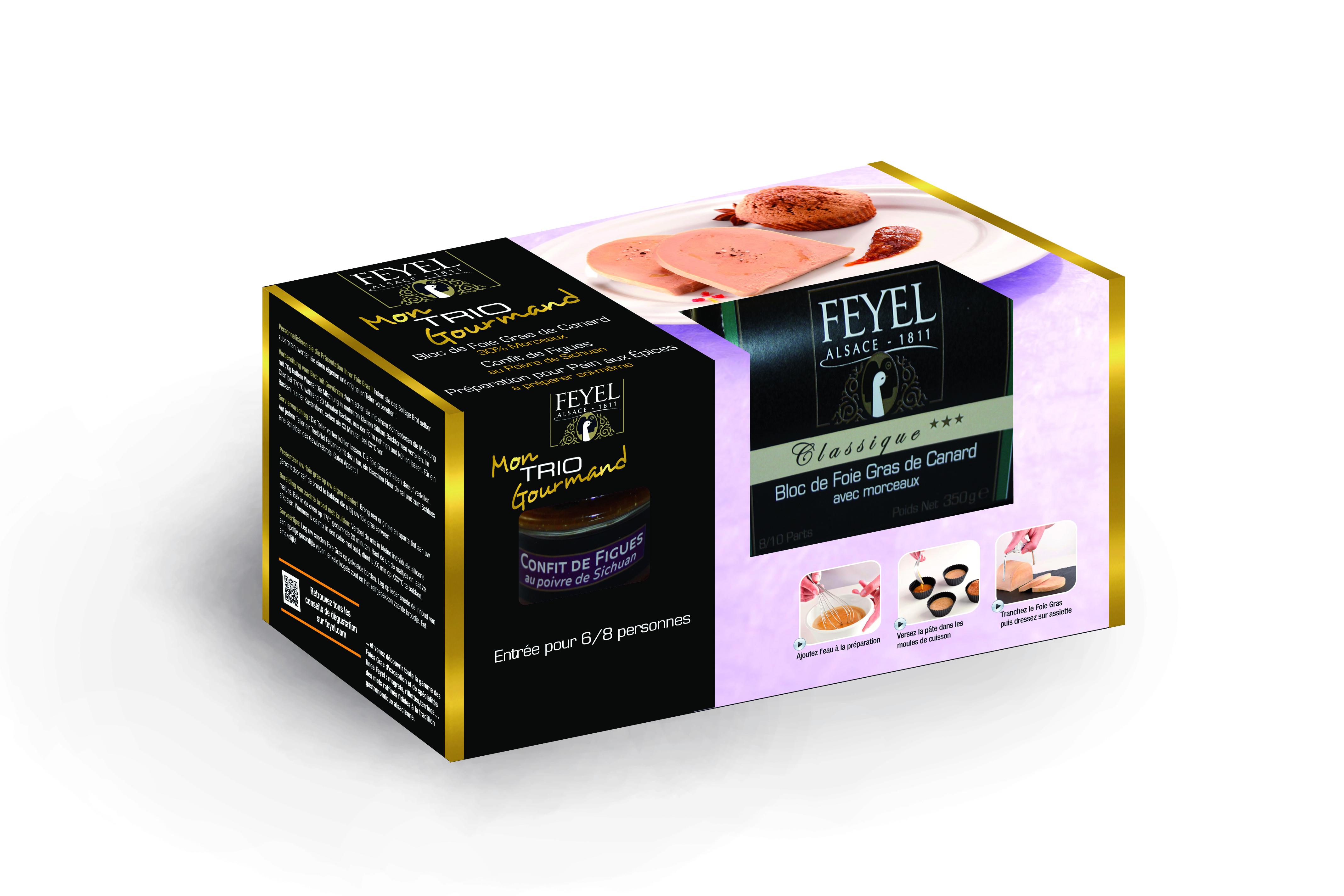 Feyel pr pare le foie gras au consommateur frais ls - Cuisiner le foie gras frais ...