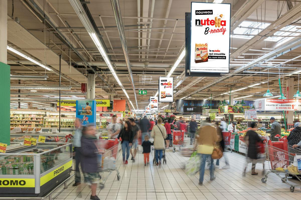 Auchan se lance dans la course aux crans en for Email auchan