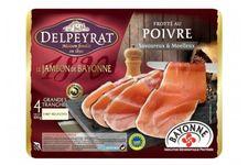 Jambon de Bayonne frotté au poivre noir Delpeyrat