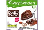 Duelto chocolat Weight Watchers