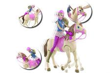 Poupée Barbie Hop à cheval de Mattel