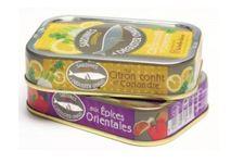 Lot de 3 boîtes de sardines cuisinées à déguster chaud aux épices orientales La Belle-Iloise