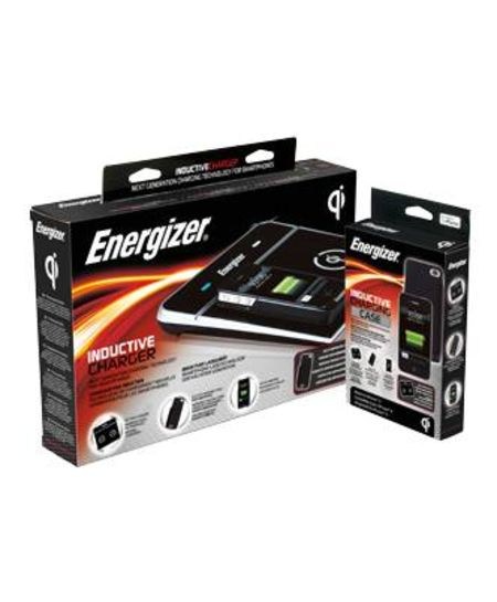 chargeur par induction energizer pour iphone 4. Black Bedroom Furniture Sets. Home Design Ideas
