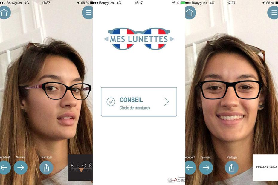 Essayage virtuel lunettes soleil