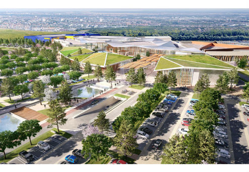 Ikea Centres Installe Auchan à Caen Et