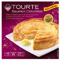 Tourte saumon crevettes de Leader Price