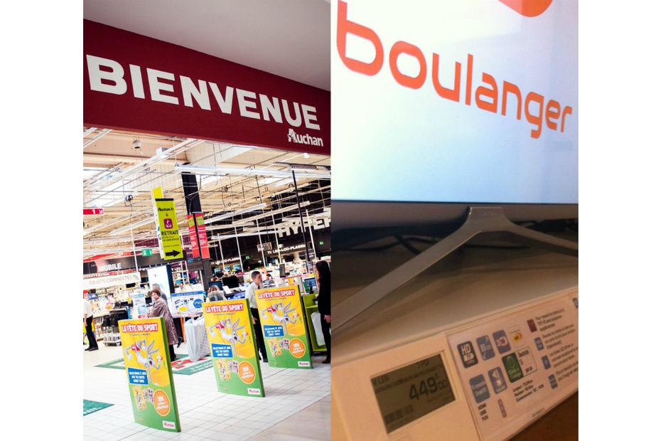Carte Auchan Numerique.Le Plan De Boulanger Et D Auchan Pour Electrodomestique