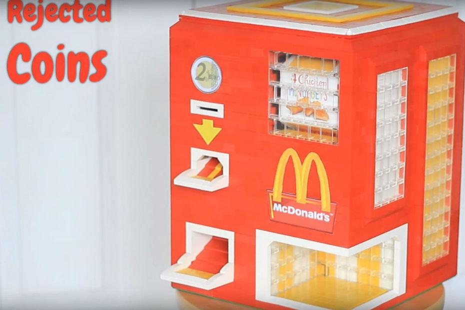 un distributeur de chicken mcnuggets en. Black Bedroom Furniture Sets. Home Design Ideas