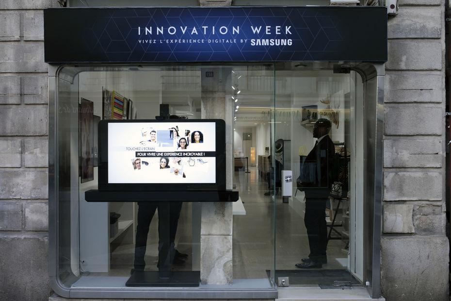 Super Le magasin connecté de demain, imaginé par HI87