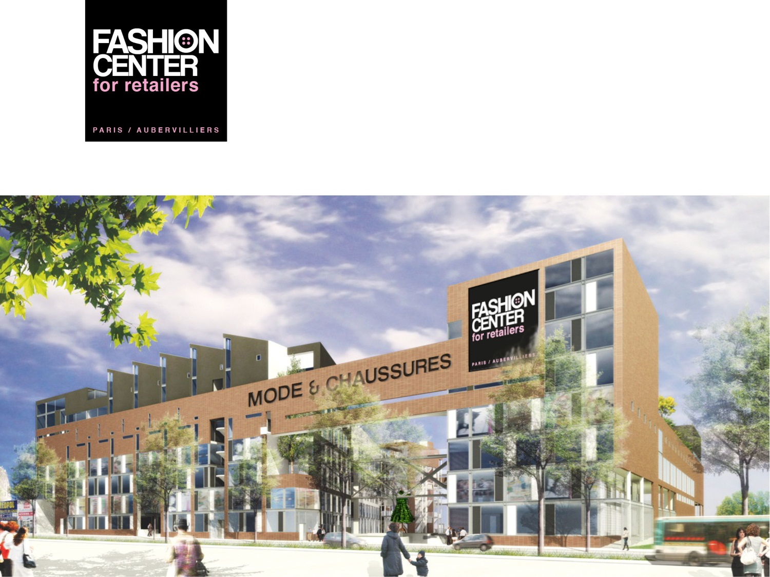 Fashion center le futur plus grand centre textile - Centre commercial porte d aubervilliers ...