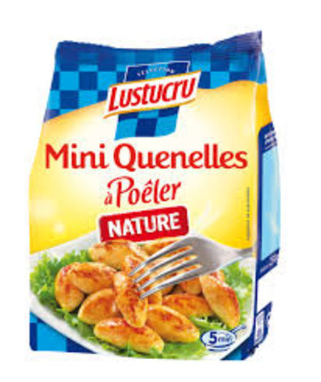 Mini quenelles po ler nature de lustucru - Comment cuisiner des quenelles nature ...