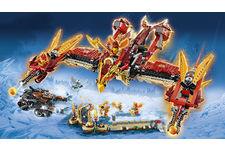70146 Flying Phoenix Fire Temple de Lego