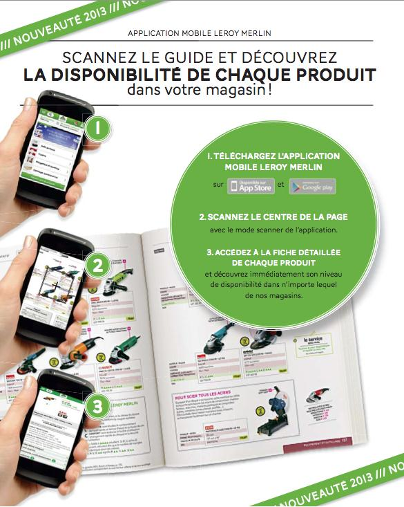 Leroy merlin lance une application pour bricolage jardinage - Magasin leroy merlin en france ...