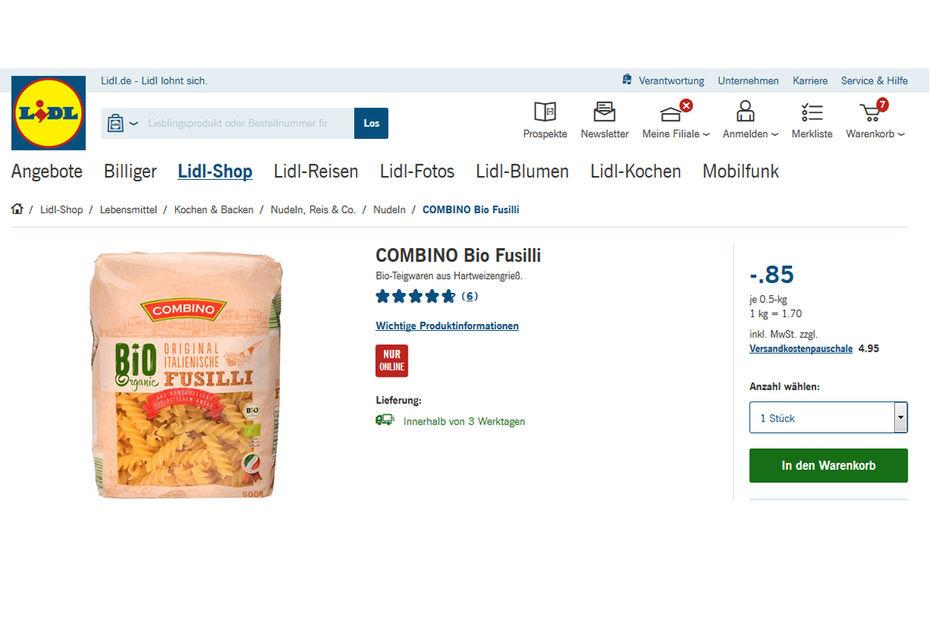 Lidl vend déjà de l alimentation en ligne, sur le sec uniquement. mais fb833f511b10
