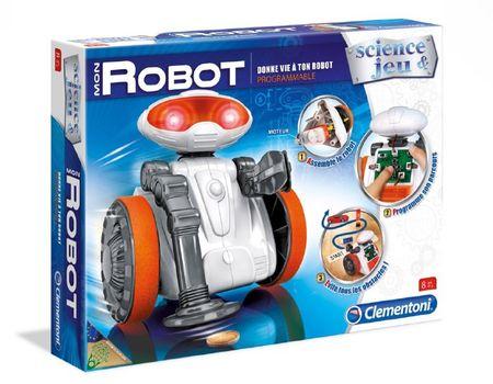 le jeu scientifique mon robot de clementoni. Black Bedroom Furniture Sets. Home Design Ideas