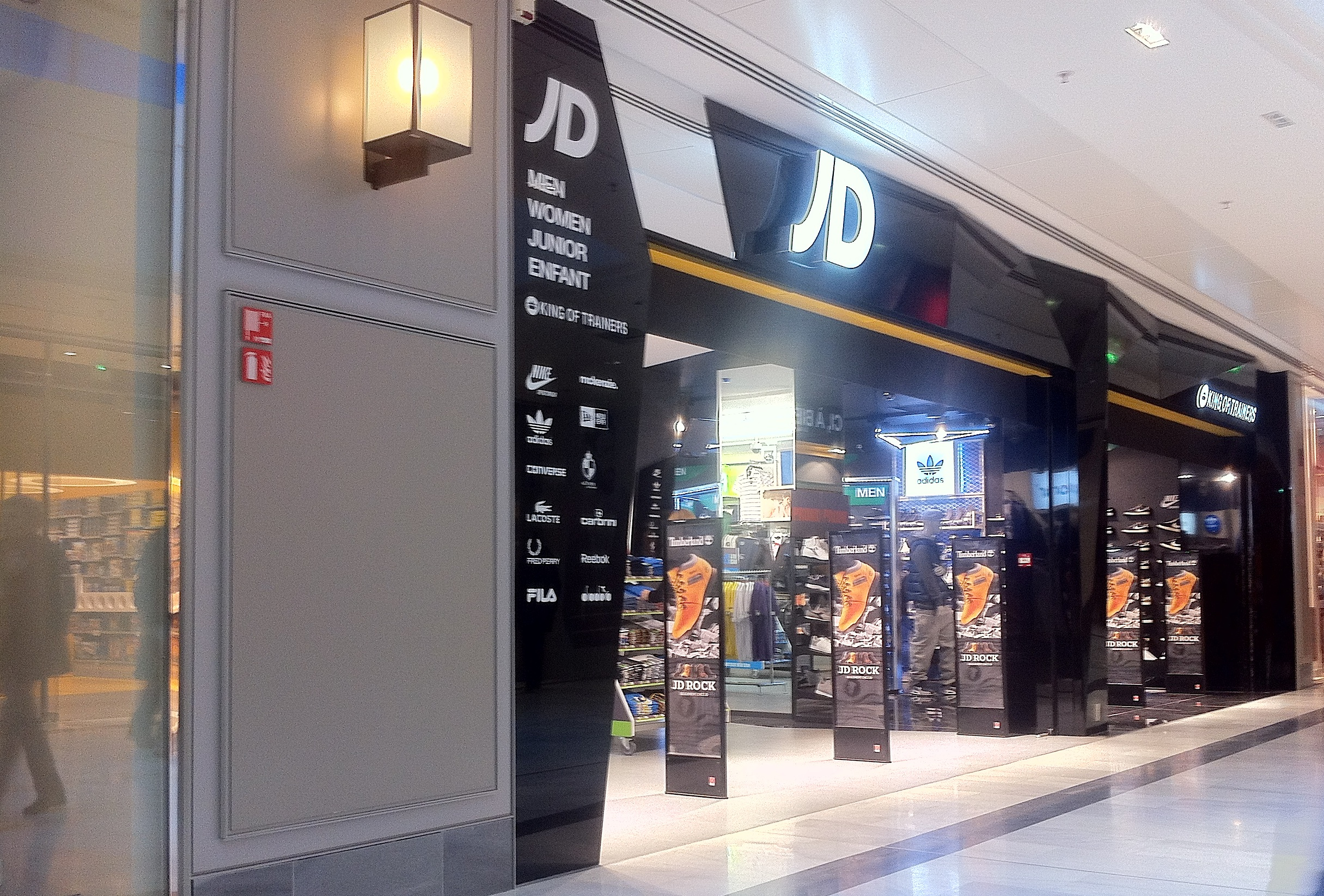 jd sports ouvrira dans le centre la toison. Black Bedroom Furniture Sets. Home Design Ideas