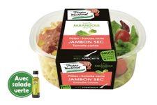 Pate Salade verte Jambon sec Tomate cerise de Pierre Martinet