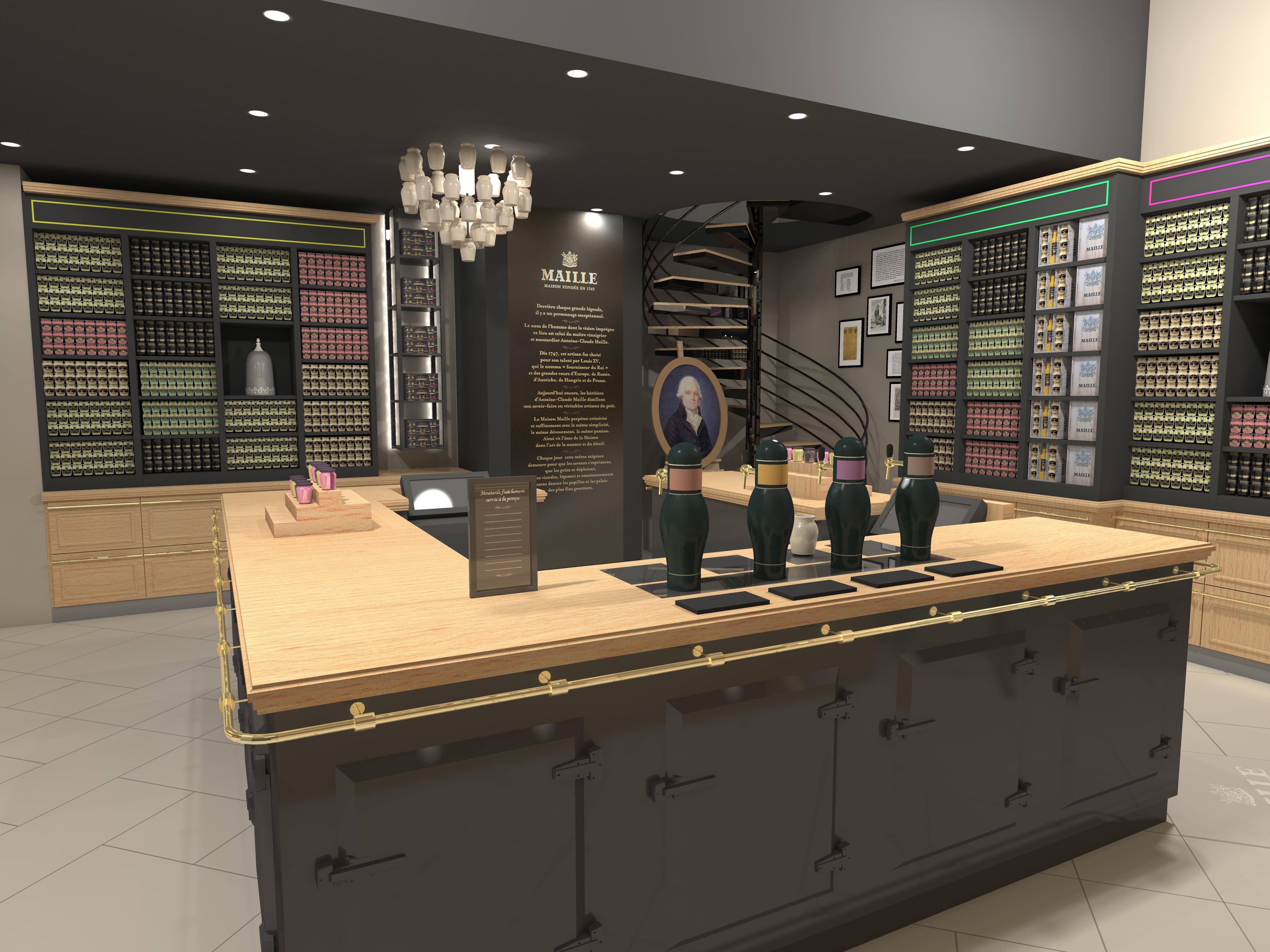 maille ouvre une boutique au carrousel du louvre. Black Bedroom Furniture Sets. Home Design Ideas