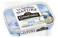 La Sardine nature de Connétable