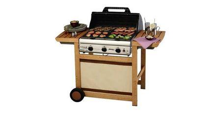 barbecue gaz adela de 3 woody l de campingaz. Black Bedroom Furniture Sets. Home Design Ideas