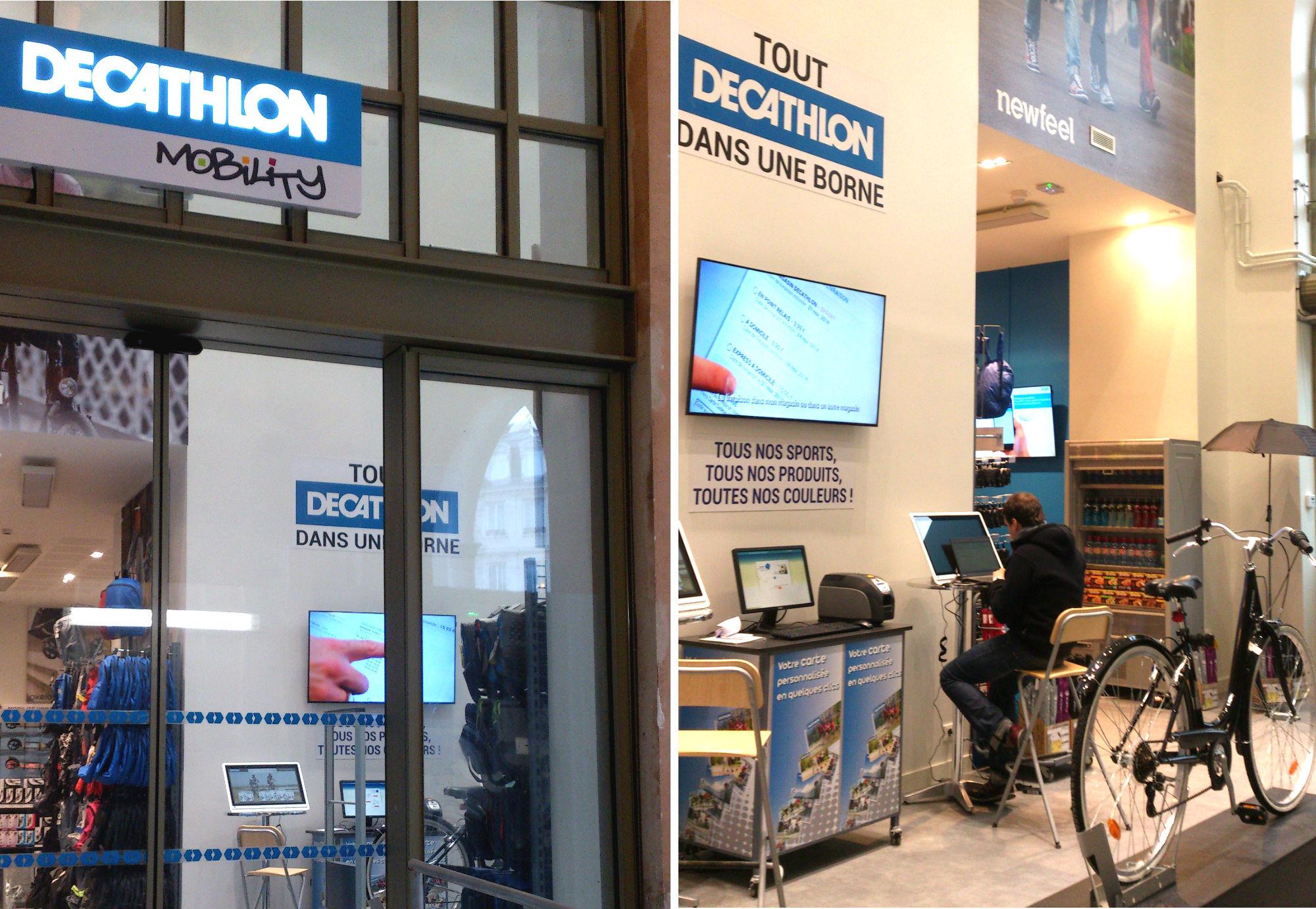 Meuble De Cuisine Decathlon decathlon mobility, nouvelle enseigne en gare