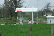 Une station Avia