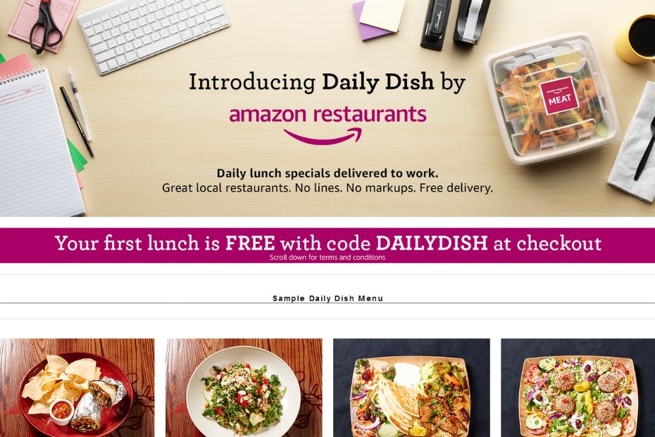 daily dish le service de livraison de repas. Black Bedroom Furniture Sets. Home Design Ideas
