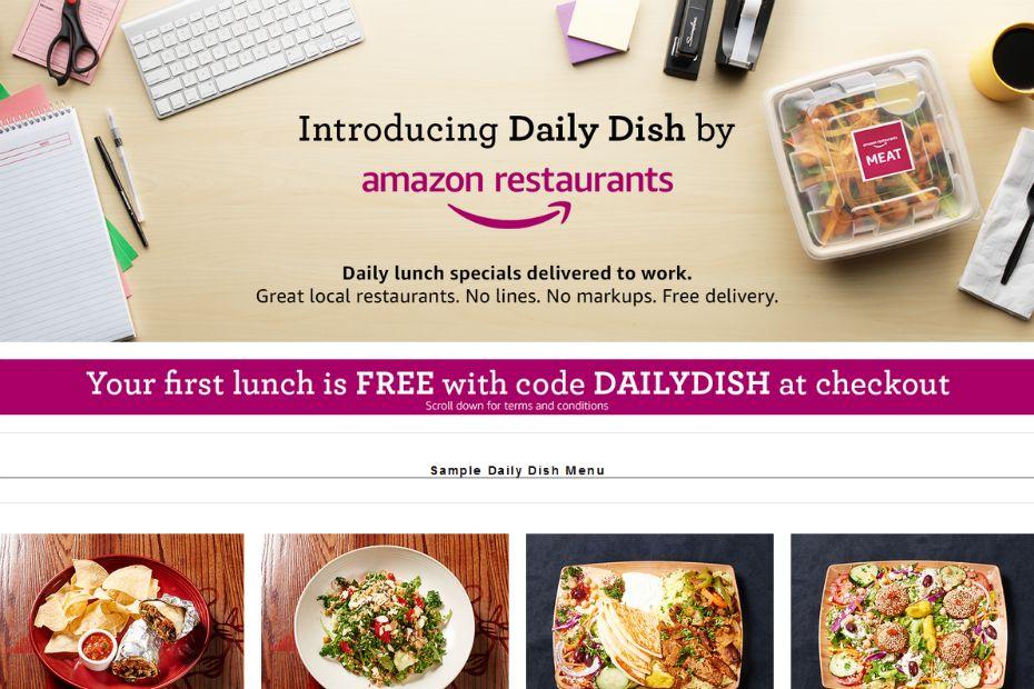 Daily Dish Le Service De Livraison De Repas