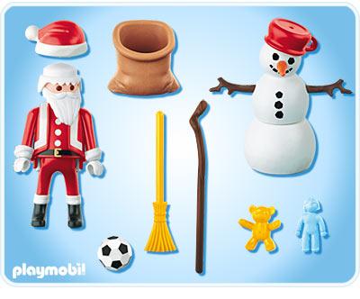 p re no l et bonhomme de neige playmobil de playmobil. Black Bedroom Furniture Sets. Home Design Ideas
