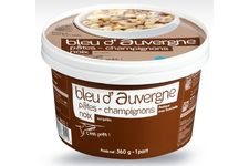 Bleu d'Auvergne, pâtes, champignons et noix de Picard
