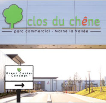le clos du ch ne retail park cologique. Black Bedroom Furniture Sets. Home Design Ideas