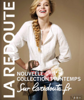 La redoute pr sente son deuxi me catalogue - La redoute catalogue blanc ...