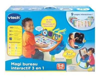 magi bureau interactif 3 en 1 de vtech de vtech. Black Bedroom Furniture Sets. Home Design Ideas