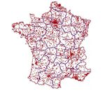 Pick Up carte de France