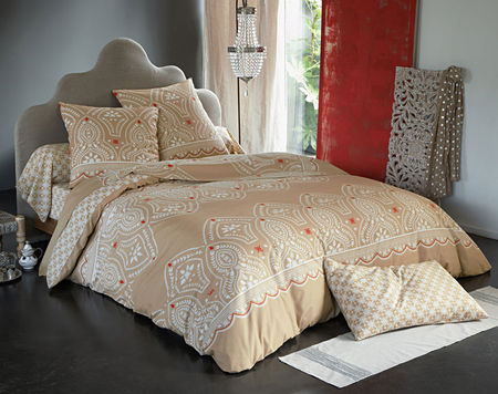 housse de couette motif oriental de becquet. Black Bedroom Furniture Sets. Home Design Ideas