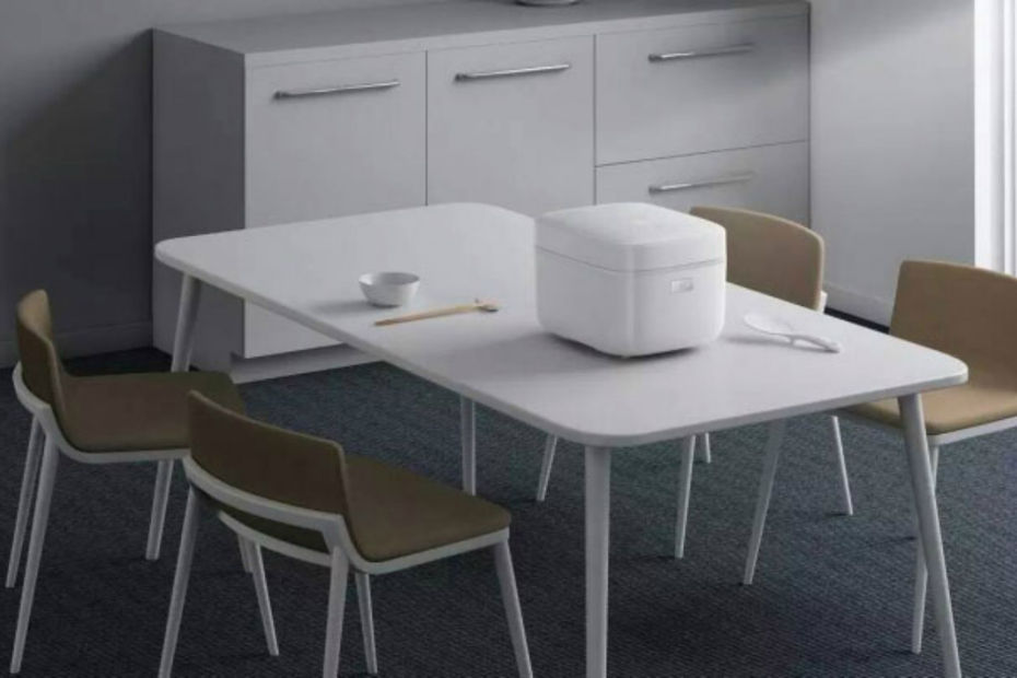 xiaomi pr sente un rice cooker connect petit. Black Bedroom Furniture Sets. Home Design Ideas