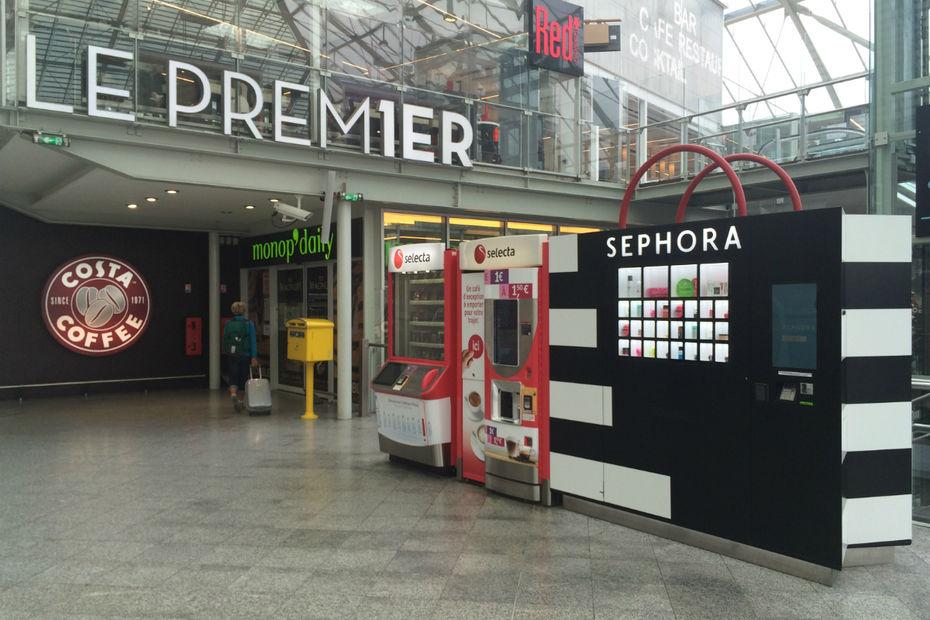 Un Sephora Test Distributeur Automatique À En kn0P8wO