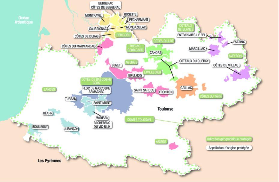 carte sud ouest : A voir avant votre achat