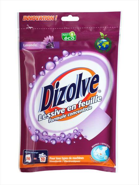 Dizolve for Lessive en poudre ou liquide
