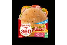 Le 360 jambon cheddar de Daunat