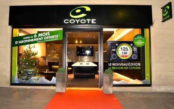 coyote d veloppe son r seau de distribution. Black Bedroom Furniture Sets. Home Design Ideas