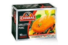 Les Grillettes de porc surgelées Charal