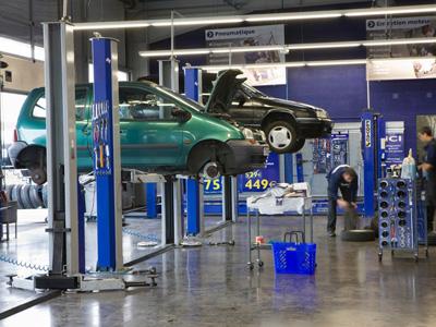 Norauto ouvre son 100e centre en franchise - Garage d entretien automobile ...